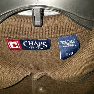 Chaps Sweaters - Chaps Brown Sweater